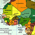 Region of West Africa